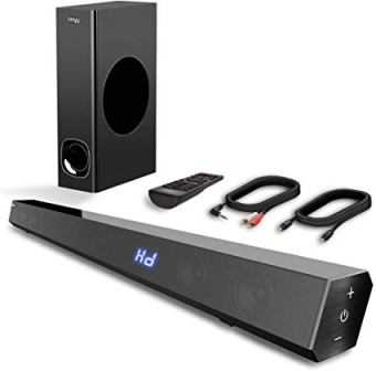 VMAI® 2.1 SOUND BAR WITH SUBWOOFER