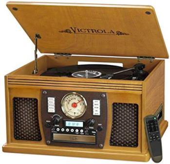 Victrola Navigator 8-in-1 3-Speed Turntable