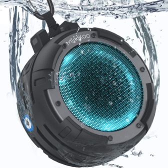 Mindkoo IPX8 Waterproof Portable Bluetooth Wireless Speaker
