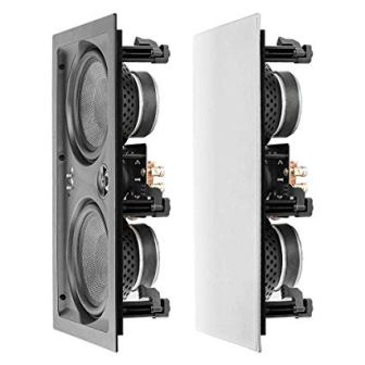 "OSD Audio 6.5"" Trimless In-Wall LCR Speaker"