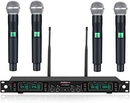 Phenyx Pro UHF Wireless Microphone System