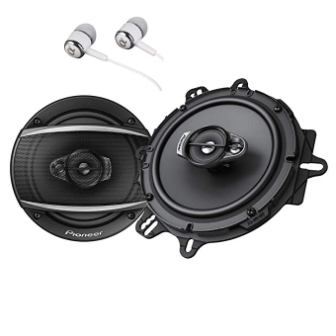 Pioneer TS-A1670F A Series 320 Watts Max 3-Way Car Speakers Pair