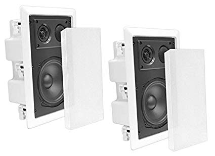 "Pyle In-Wall / In-Ceiling Dual 8.0"" Enclosed Speaker Systems"