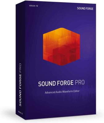 SOUND FORGE PRO – VERSION 13