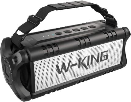 W-KING Outdoor Portable Waterproof TWS Speaker