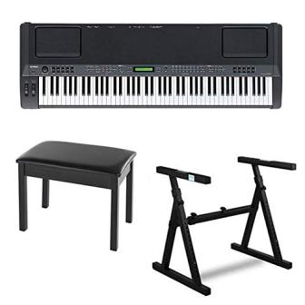 Yamaha CP300 Stage Piano – Black With Graded Hammer keys