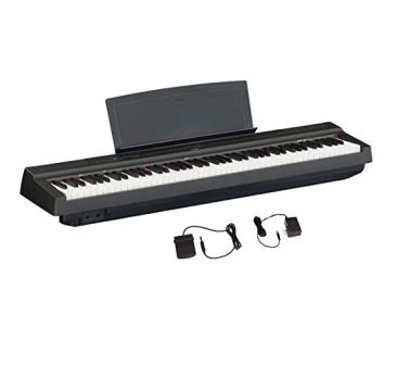 Yamaha P-125 88-Key Digital Piano With Weighted Action Keys