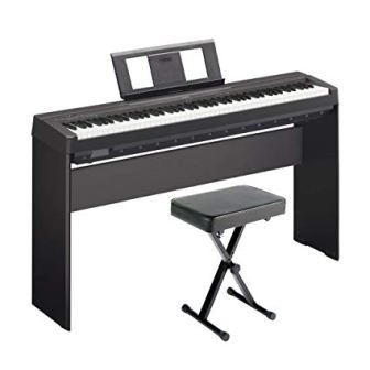 Yamaha P45 Weighted 88-Key Digital Piano with Stand and Bench