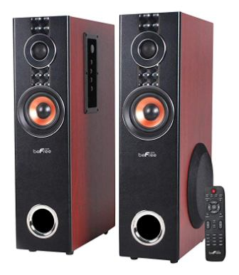beFree Sound BFS-T110W 2.1 Channel Powered Dual