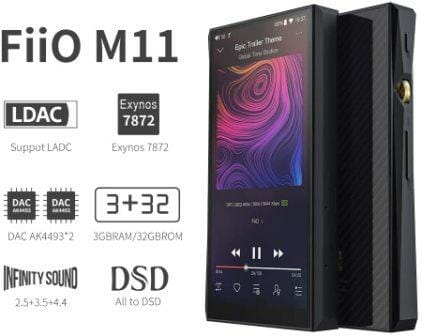 FiiO M11 Android Music Player