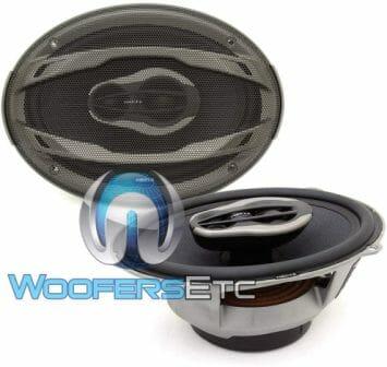 "Rockford Fosgate PUNCH P1694-6 /""x9/"" haut-parleurs 4 voies gamme complète de 150 watts"