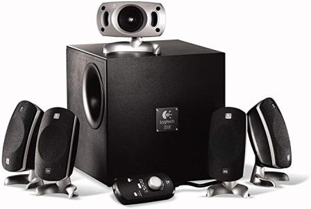 Logitech Z-5300e 5.1 Surround Sound Speaker System