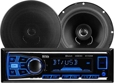 BOSS 638BCK Audio Systems