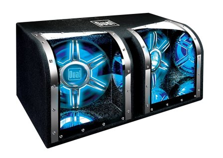 Dual Electronics BP1204 High Performance Studio Enclosed Car Subwoofer