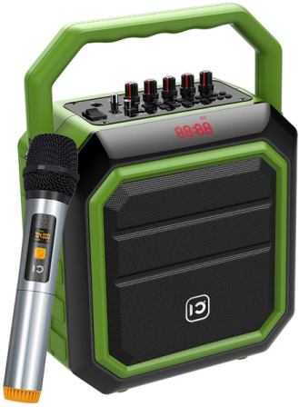 HW HaoWorks SD-H2 Portable PA Speaker with Microphone