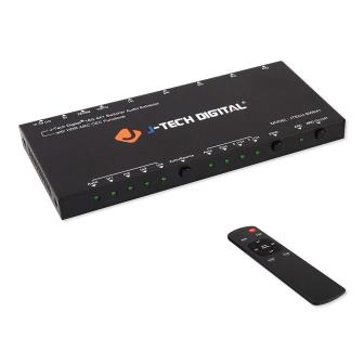 J-Tech Digital HDMI Audio Extractor Switcher