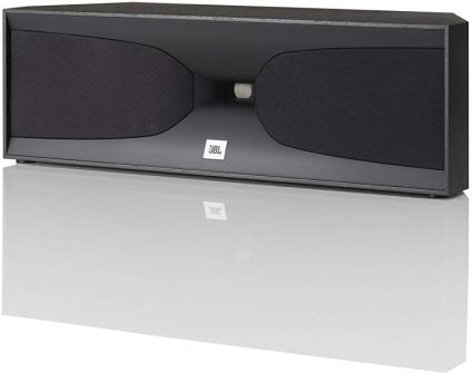 JBL Studio 520CBK 2-way Dual 4-inch Center Channel Speaker