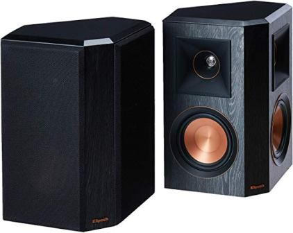 Klipsch RP-502S Surround Sound Speakers (Top pick)