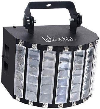LaluceNatz DJ Lights with 30W Multicolor LED Beams