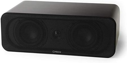 Micca RB42-C Center Channel Bookshelf Speaker