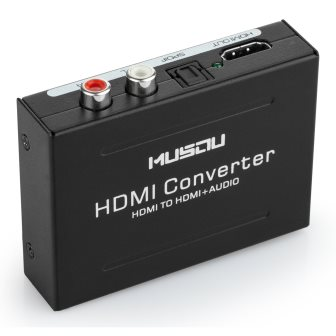 Musou 1080P HDMI Audio Extractor