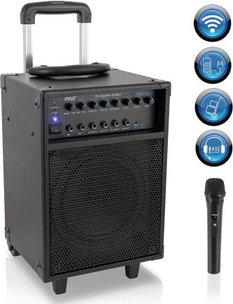 Pyle PWMA230BT Portable PA Speaker System with Microphone
