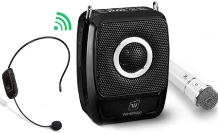 WinBridge S92 Pro Portable Speaker with Microphone