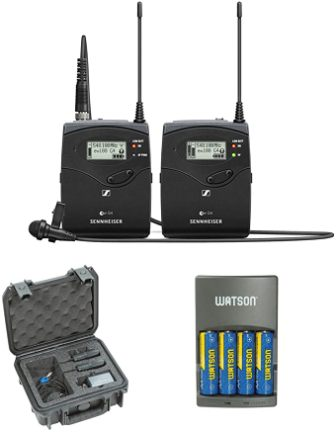EW 112P G4 Wireless Lavalier Microphone by Sennheiser