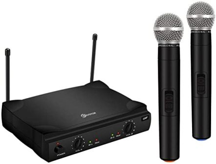 Eivotor Wireless Microphone System