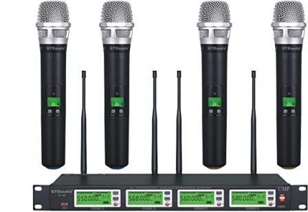 GTD 787 Wireless Audio Microphone Mic System