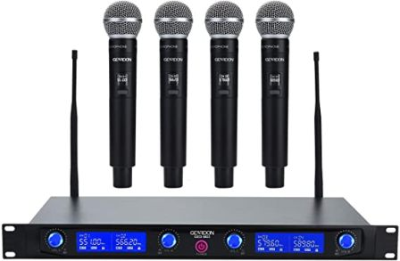 Geardon Pro Wireless Microphone System