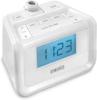 Homedics Dual Alarm Digital FM Clock Radio