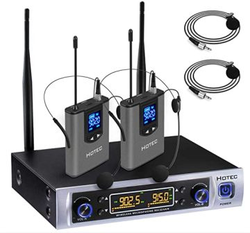 Hotec H-K25 Wireless Lavalier Microphone System