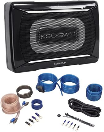 Kenwood KSC-SW11 Slim Subwoofer