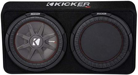 Kicker 43TCWRT122 Slim Subwoofer