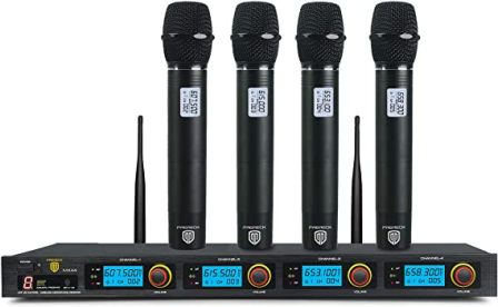 MX44 UHF Wireless Microphone System by Proreck