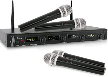 PDWM4520 Wireless Microphone System by Pyle