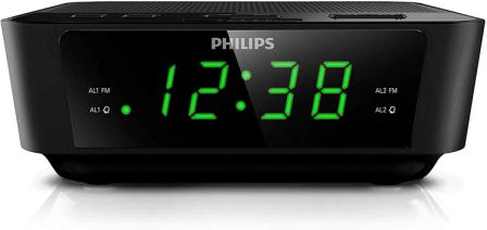 Philips Digital Alarm Clock Radio