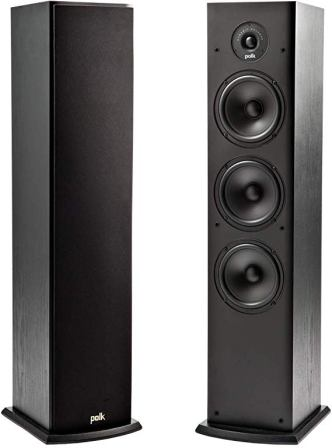 Polk Audio T50 Home Theater and Music Floor Standing Tower Speakers