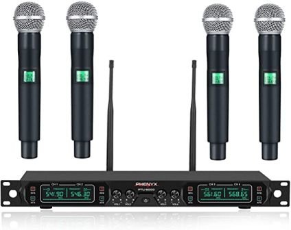 Pro PTU-5000A Wireless Microphone System by Phenyx