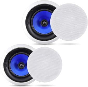 Pyle PIC8E 2-Way In-Wall In-Ceiling Speaker System