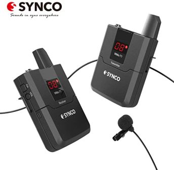 SYNCO WMic-T1 Wireless Lavalier Microphone System