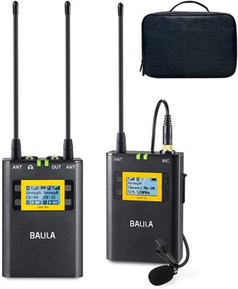 UHF Wireless Lavalier Microphone by Balila