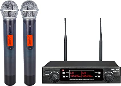 WM-333 UHF Wireless Microphone System by innopow