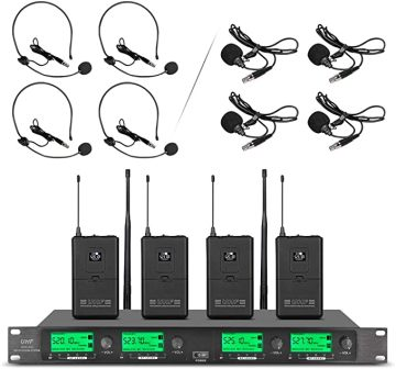 Wenwen Wireless Microphone System Pro Audio UHF