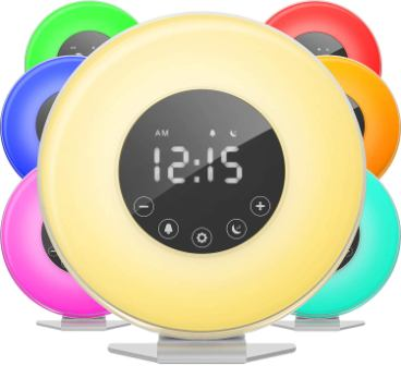 hOmelabs Sunrise Alarm Clock