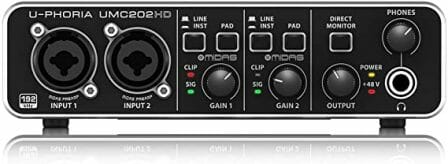 Behringer's UMC22 Audio Interface