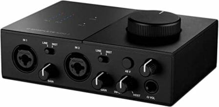 Native Instruments' 2-Channel Komplete Audio 2 Audio Interface
