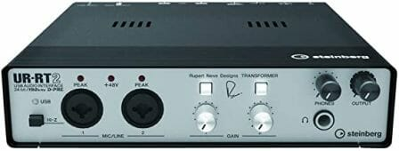 Steinberg's UR-RT2 Audio Interface with Rupert Neve Designs Transformers