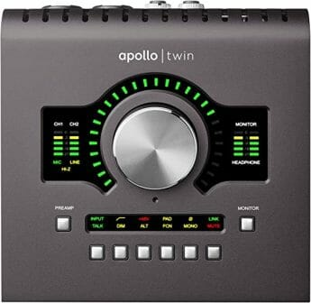 UA's Apollo X4 Thunderbolt 3 Audio Interface